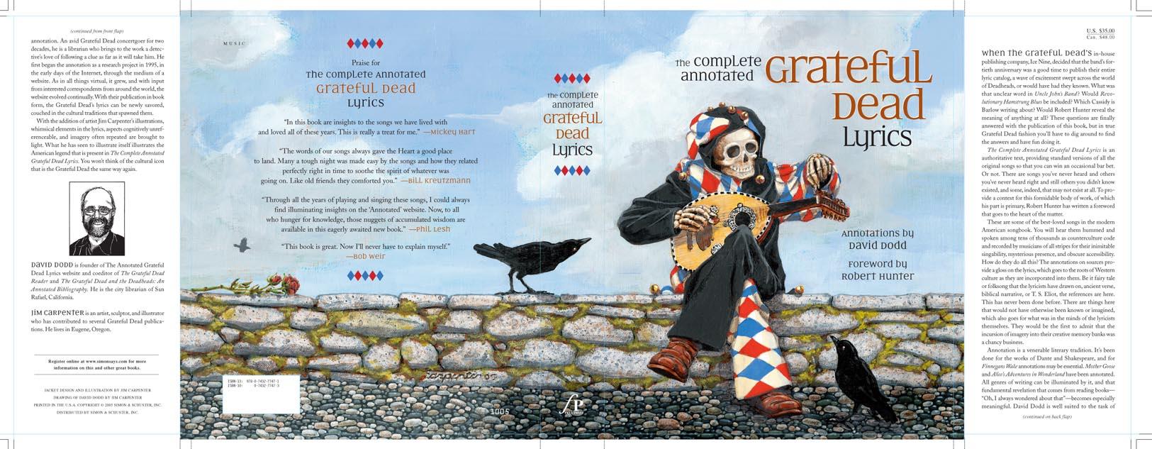 Grateful Dead pin Jester plays mandolin NEW pin LE 100 : eBay